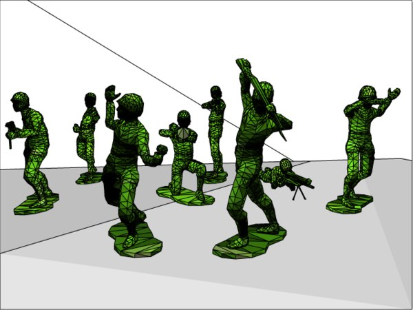 3d model plastic army man - Plastic Army Man Collection    by    Army Men Png