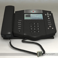 3d polycom telephone old model