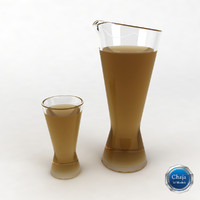 Glass Juice Pitcher_01