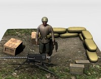 3ds ww2 military set 2