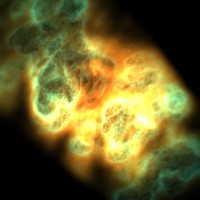 Volumetric Light nebulae