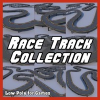 Low Polygon Race Track Collection