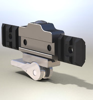 Mil-Std Mounting Bracket Picatinny Rail