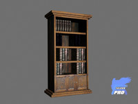 3d bookstand book model
