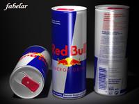 red bull 3d max