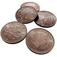 british pence 2005 2009 3d model