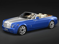 rolls royce drop head 3d model