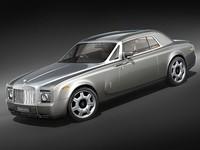 rolls royce coupe phantom 3d model