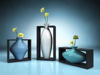 3dsmax vase holder