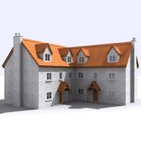 3dsmax house