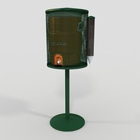 perforated metal water cooler max