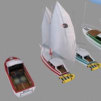 3d model ships games