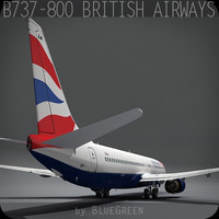 Boeing 737-800 British Airways