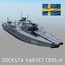CB90 class 3D models