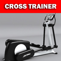 cross trainer gym equipment max