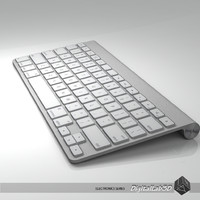 3d apple mac keyboard