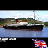 ferry - 3d model