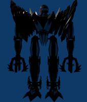 giant robot 3d model