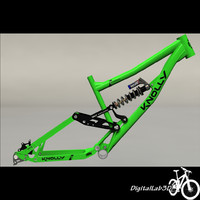 3ds max bike frame knolly podium