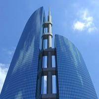 3dsmax skyscraper