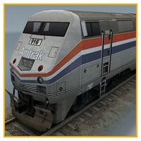 3dsmax train