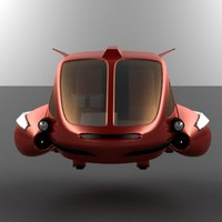 flying car 3d model
