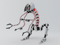 3d model of robot flr-150