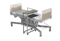hospital patient bed 3d model