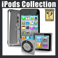 3d model apple ipods