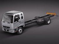 mitsubishi fuso fk13 truck 3d model