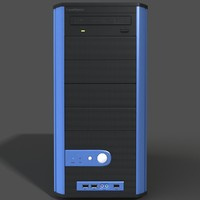 computer case modeled max