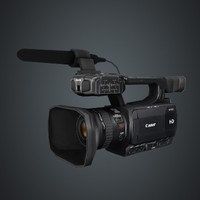 3d model of canon xf100 camcorder