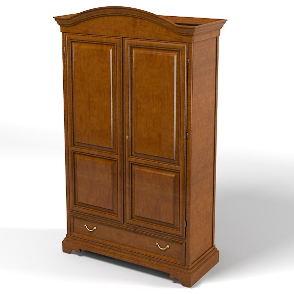selva bedroom armoire storage wardrobe cabinet traditional country