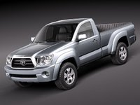 toyota tacoma single cab 3ds