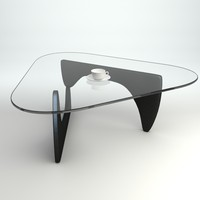 Coffee Table with Cup and Saucer