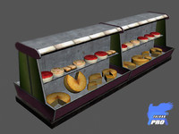 cheese stand 3d max