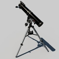 Newton Reflector Telescope