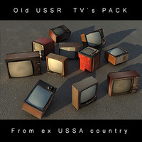 Old Ussr TV`s Pack