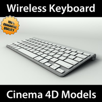cinema4d apple wireless keyboard