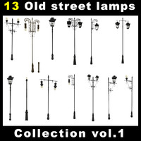 Old Street Lamps Collection vol. 1