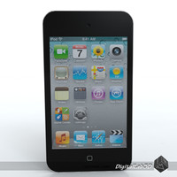 3d model of ipod touch 4th