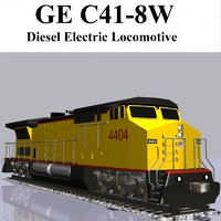 GE C41-8 Locomotive