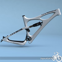 Bike Frame Mojo HD White
