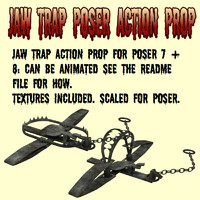 JawTrap Poser Action Prop