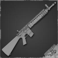 3ds 5 rifle mk12 mod