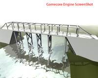 bridge architectural 3d max