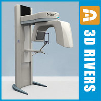 Panoramic X-Ray machine by 3DRivers