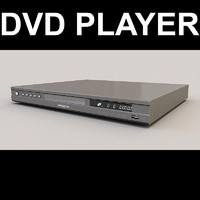 3d model dvd player