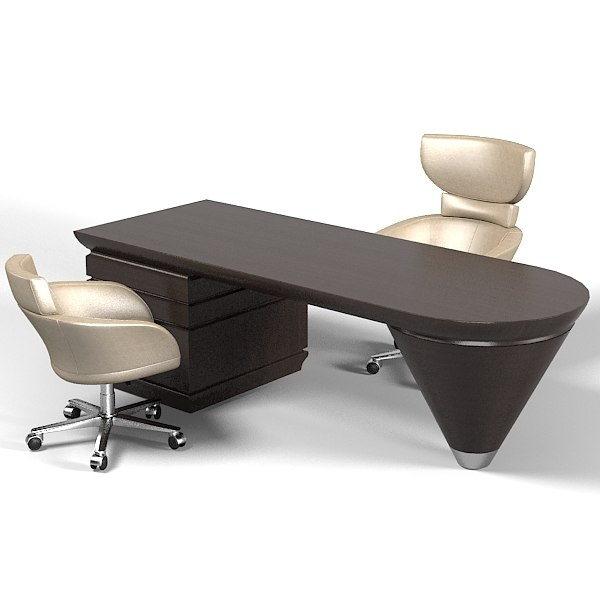Giorgetti modern contemporary 3d max for Office table 3d design