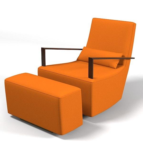 3d model of ligne roset neo. Black Bedroom Furniture Sets. Home Design Ideas